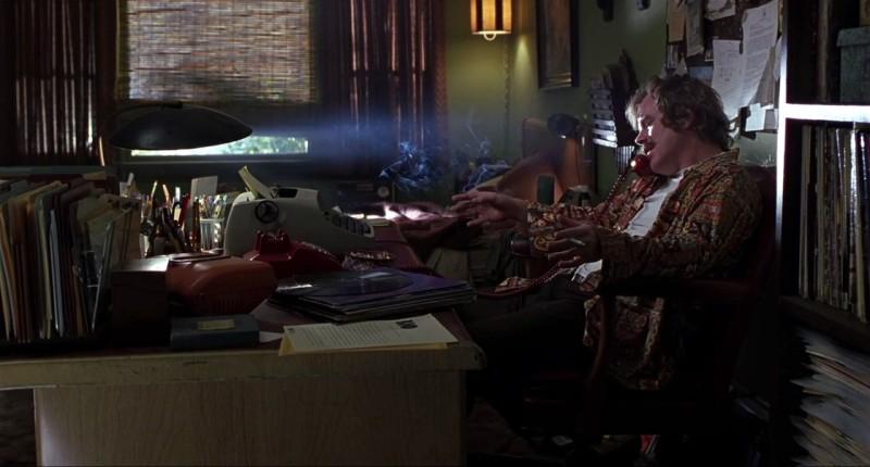 """Philip Seymour Hoffman interprète le célèbre critique rock Lester Bangs dans """"Almost Famous"""", de Cameron Crowe (2000)."""